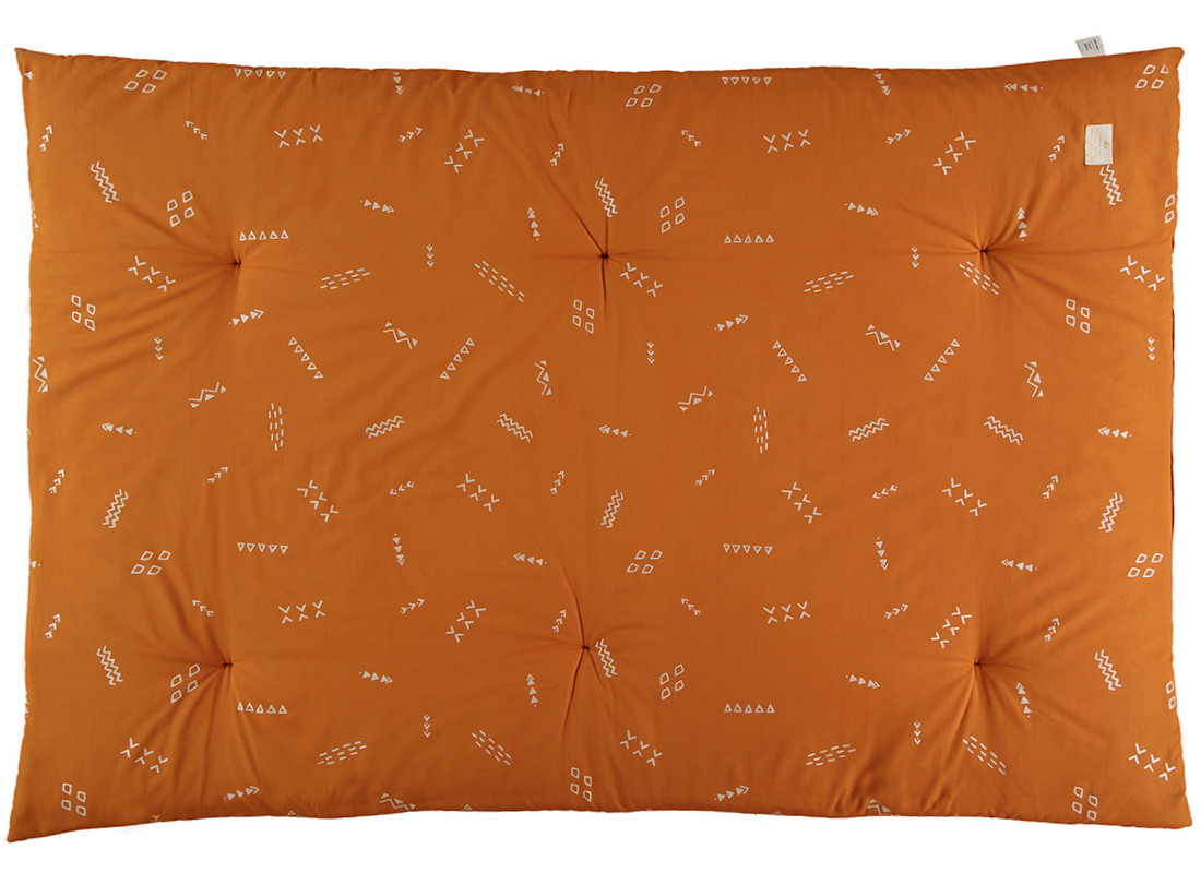 Futon Eden 148x100x6 gold secret/ sunset