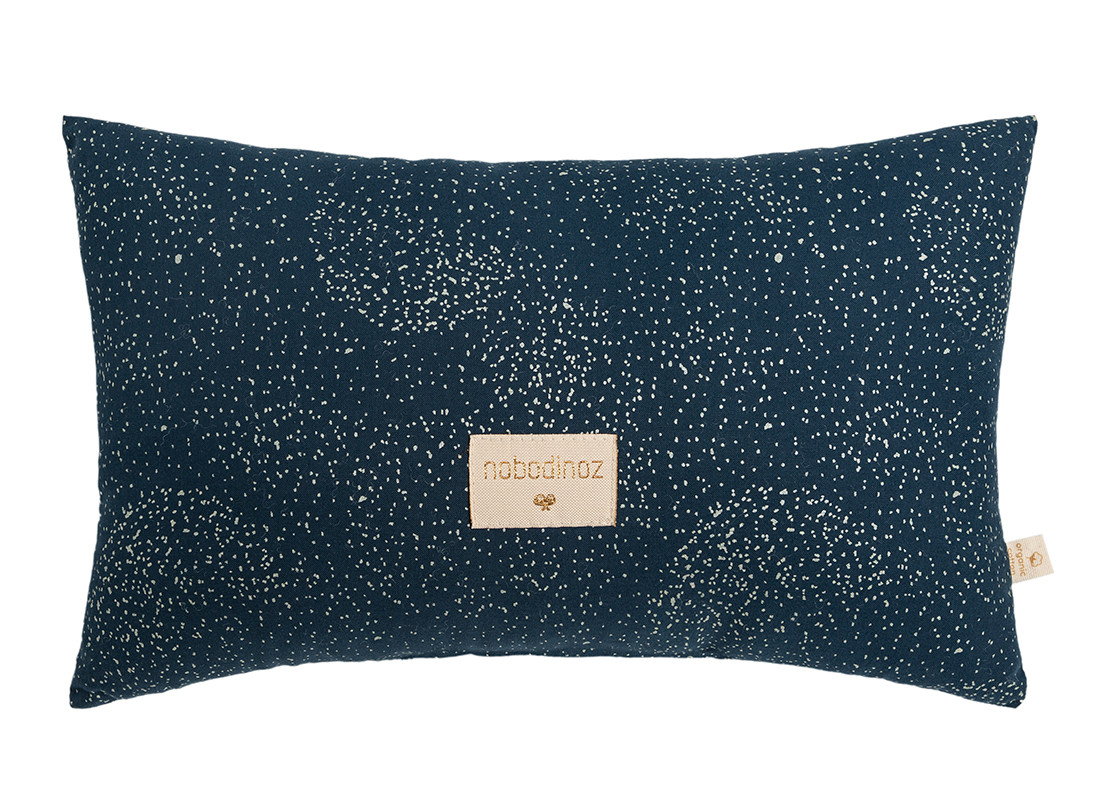 Cojin Laurel 22x35 gold bubble/ night blue