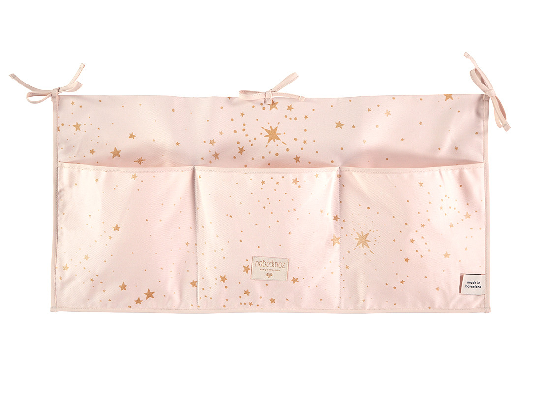 Organizador de cuna Merlin • gold stella dream pink