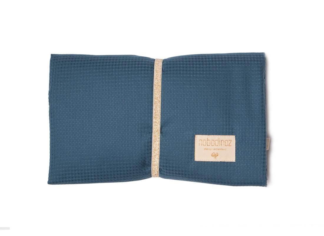 Cambiador de viaje impermeable Mozart 68x50 night blue