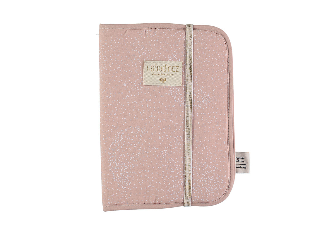Funda carnet de salud Poema A5 24x18 white bubble/ misty pink