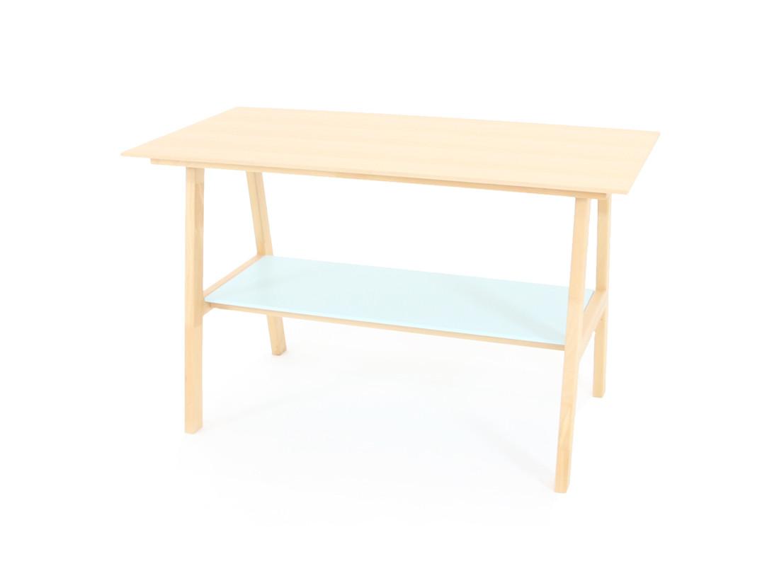 Beech wood Table • green