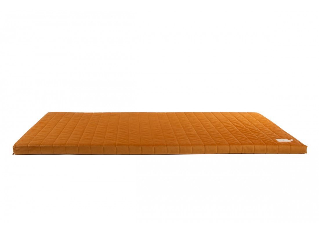Zanzibar play mattress • velvet farniente yellow