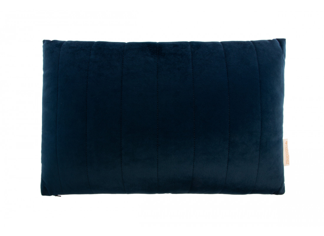Akamba cushion • velvet night blue