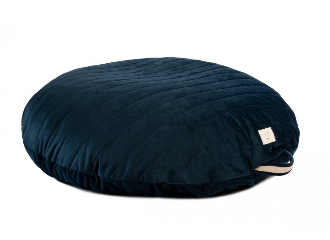 Sahara velvet beanbag night blue