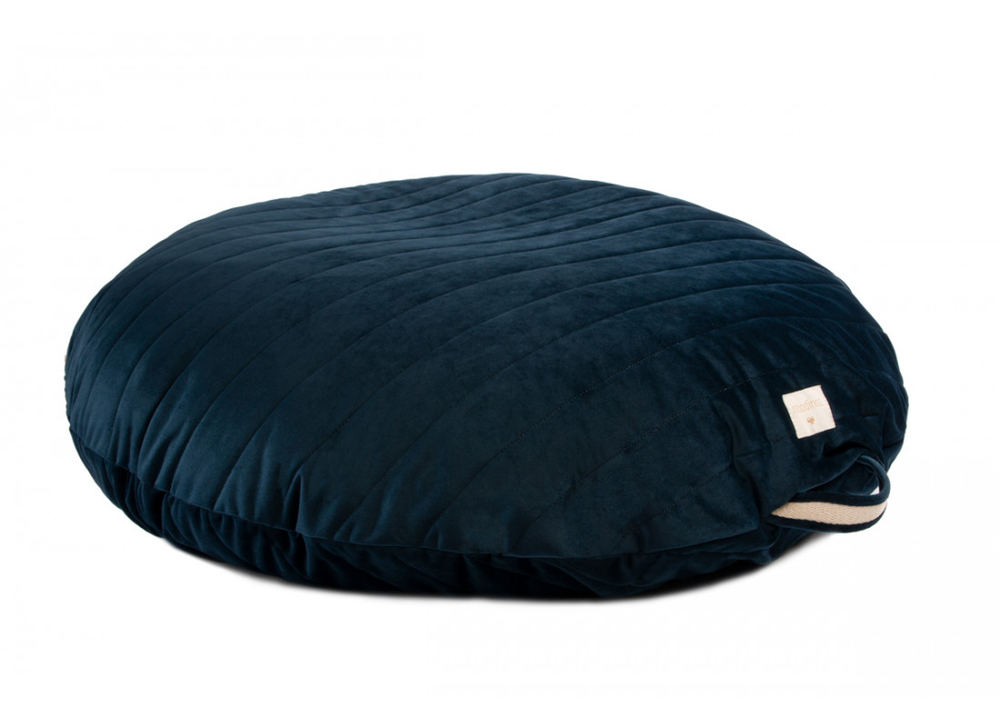 Sahara floor cushion • velvet night blue