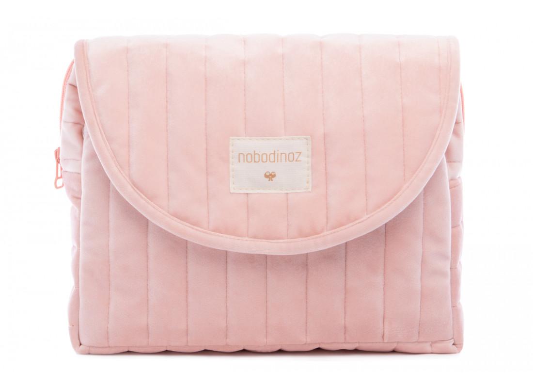 Savanna velvet Maternity Case bloom pink