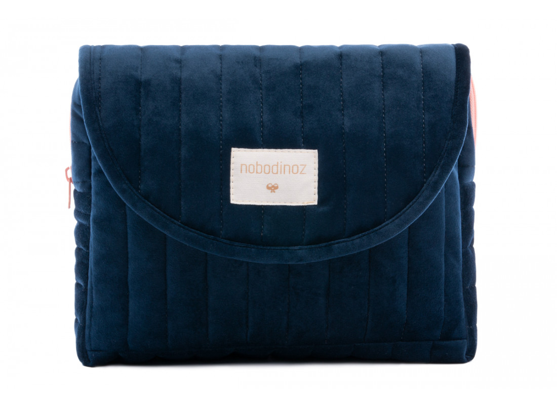 Savanna velvet Maternity Case night blue