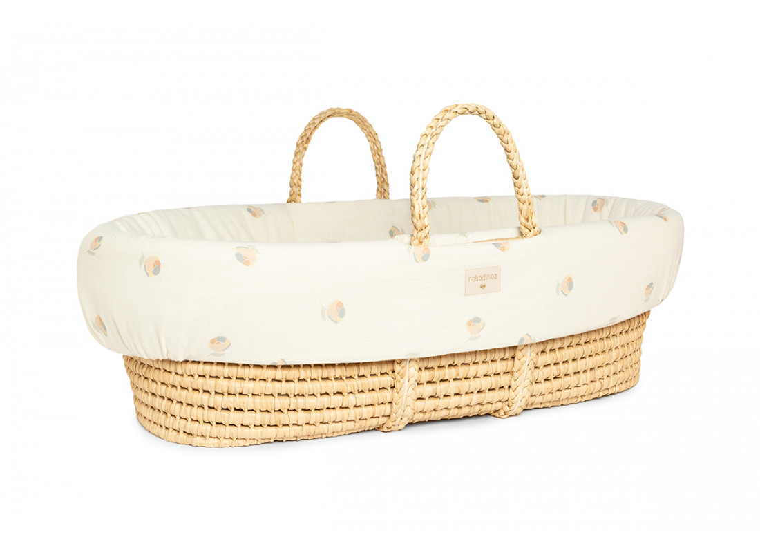 Padded baby moses cover • blossom