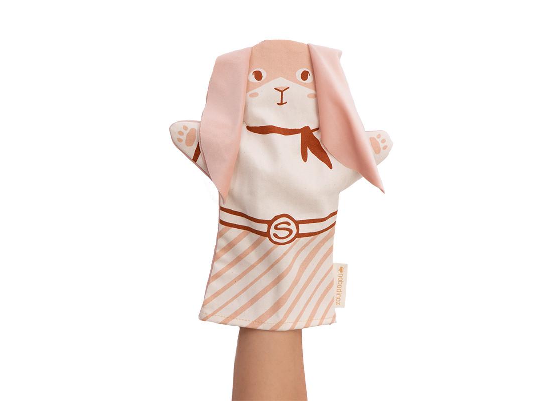 Bunny hand puppet