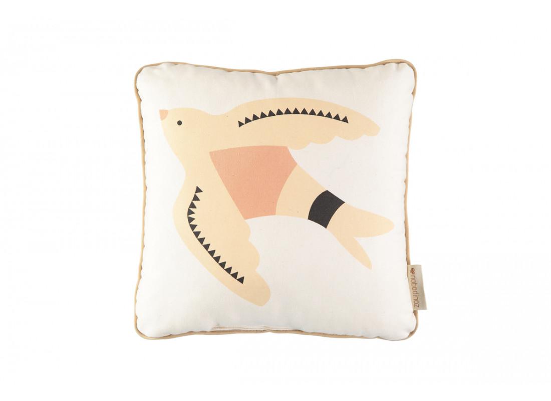 Haiku bird cushion