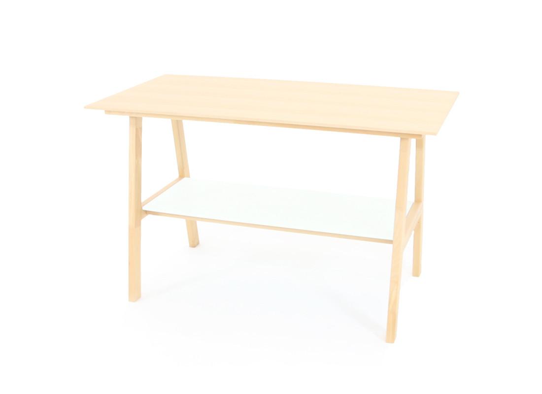 Beech wood Table • white