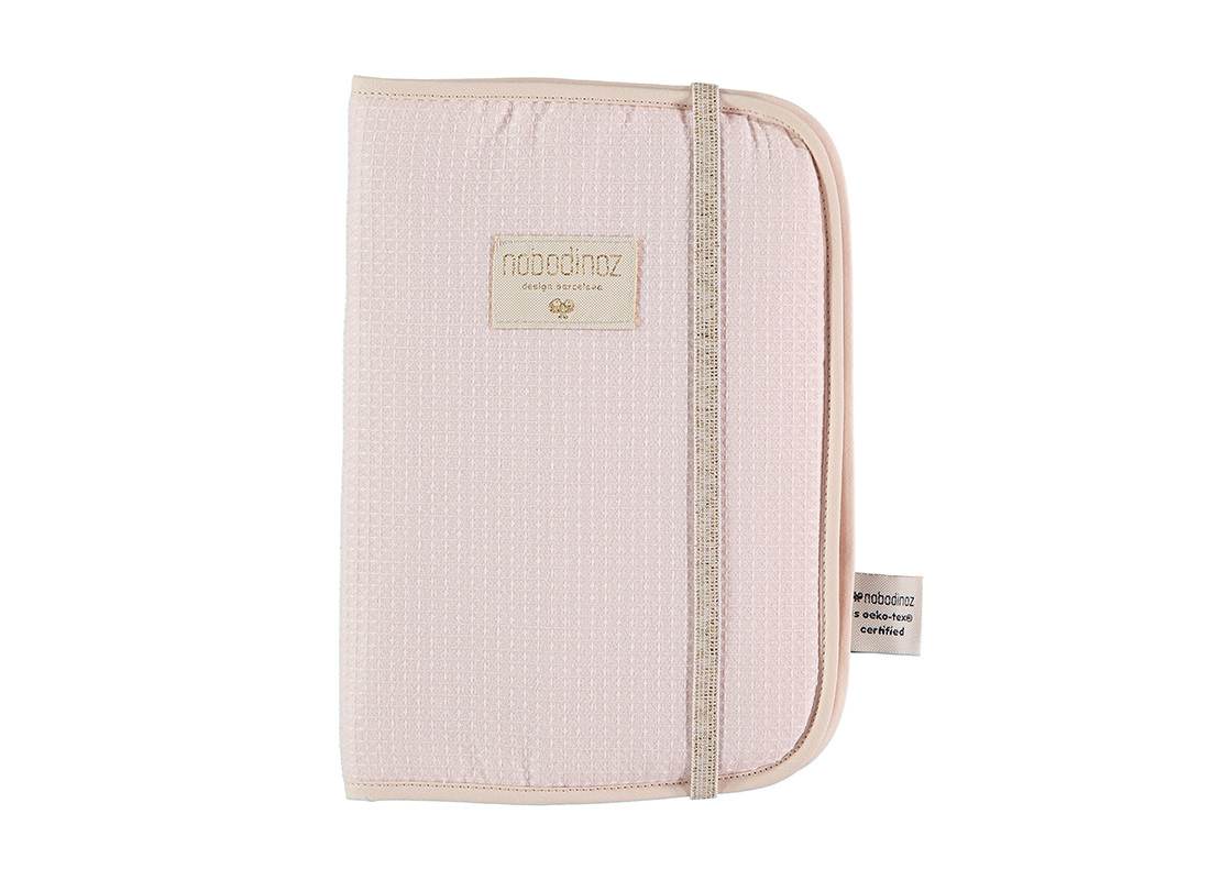 Poema health booklet sleeves honeycomb A5 24x18 dream pink
