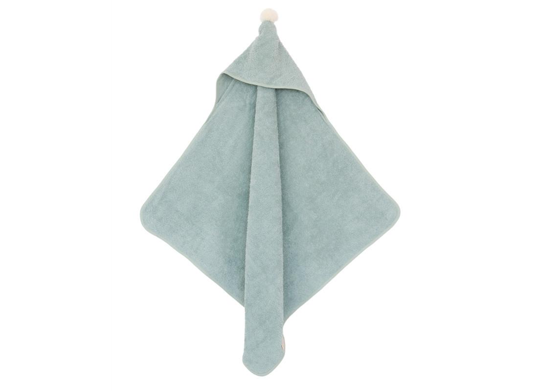 So Cute baby bath cape 73x73 green