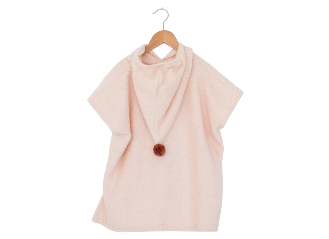 So Cute poncho 55x58 3-5 y pink