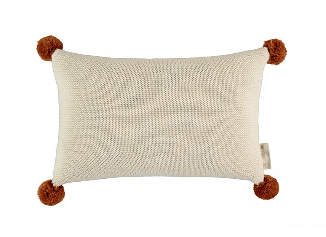 So Natural knitted cushion • Natural