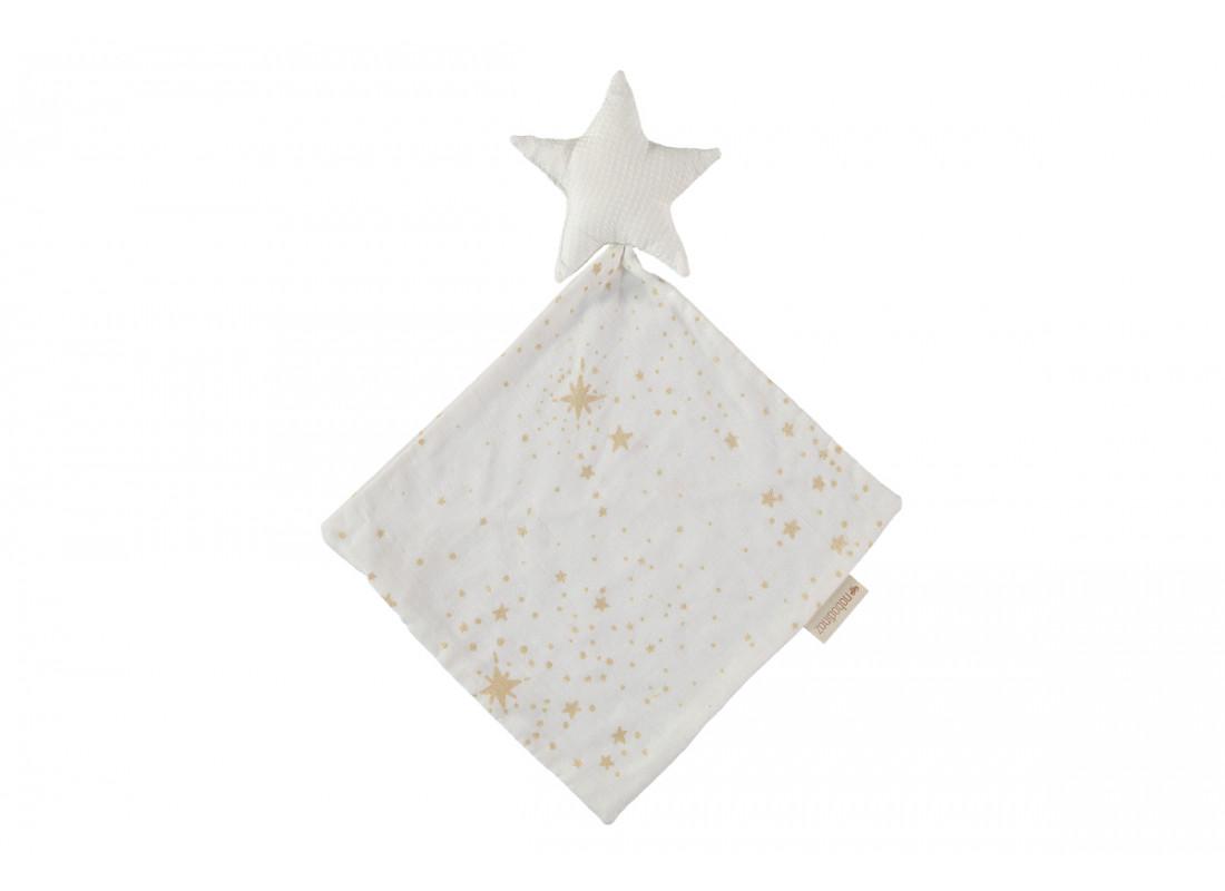 Star doudou gold stella/ white
