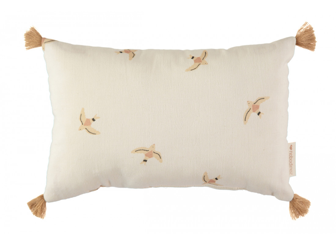 Sublim cushion nude haiku birds/ natural