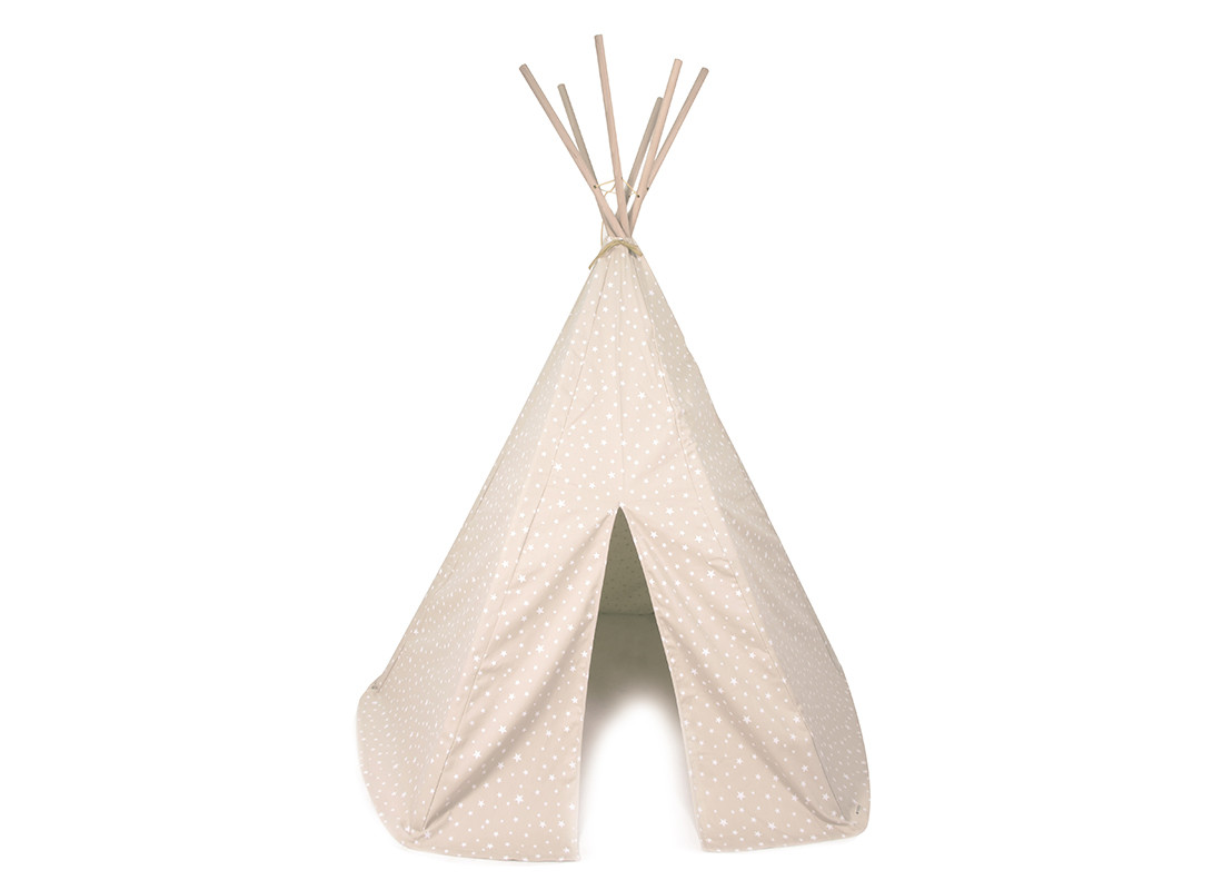 Arizona teepee • sand white stars
