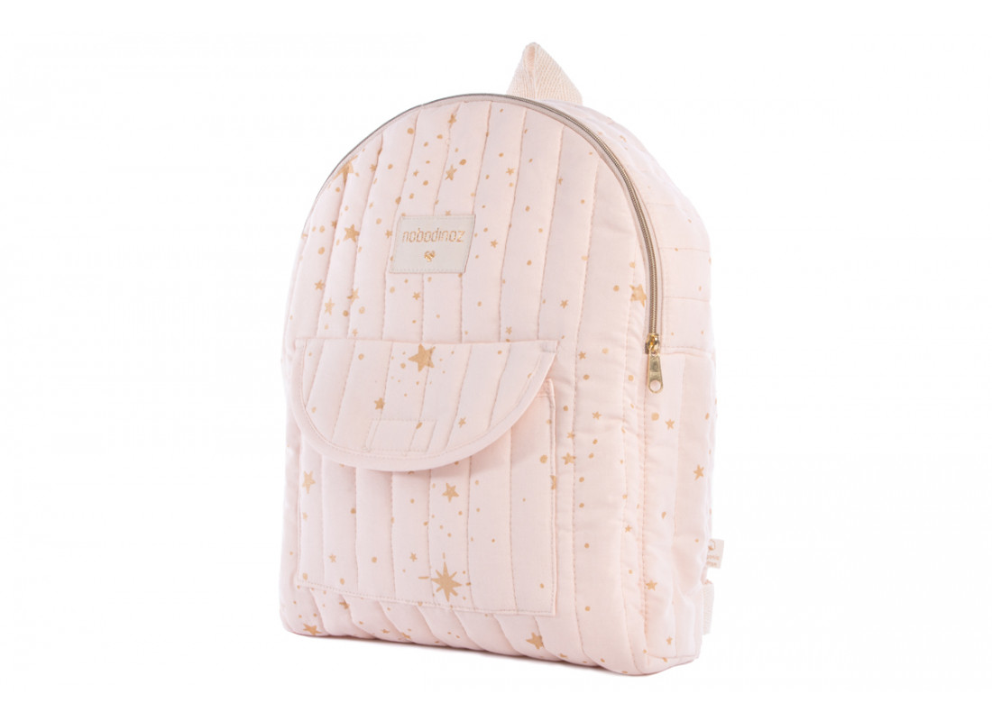 Too Cool kid backpack gold stella/ dream pink