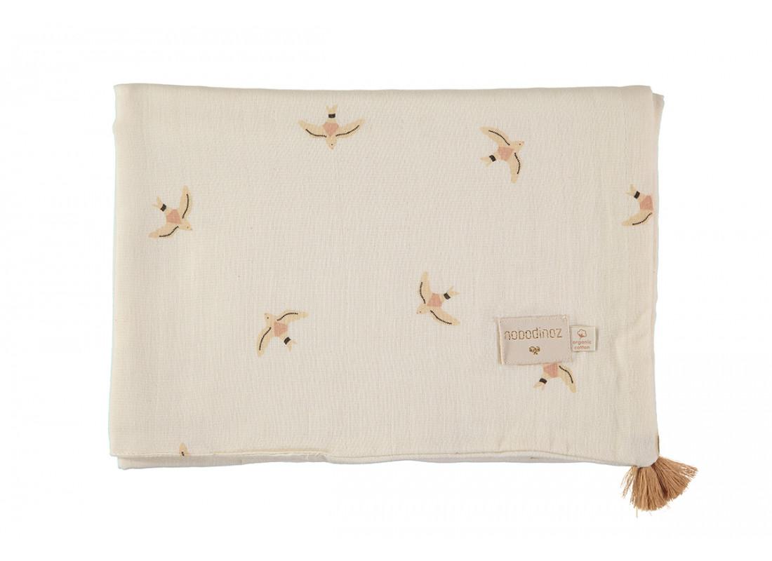 Treasure summer blanket nude haiku birds natural