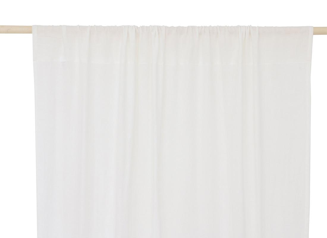 Utopia curtain 146x280 white