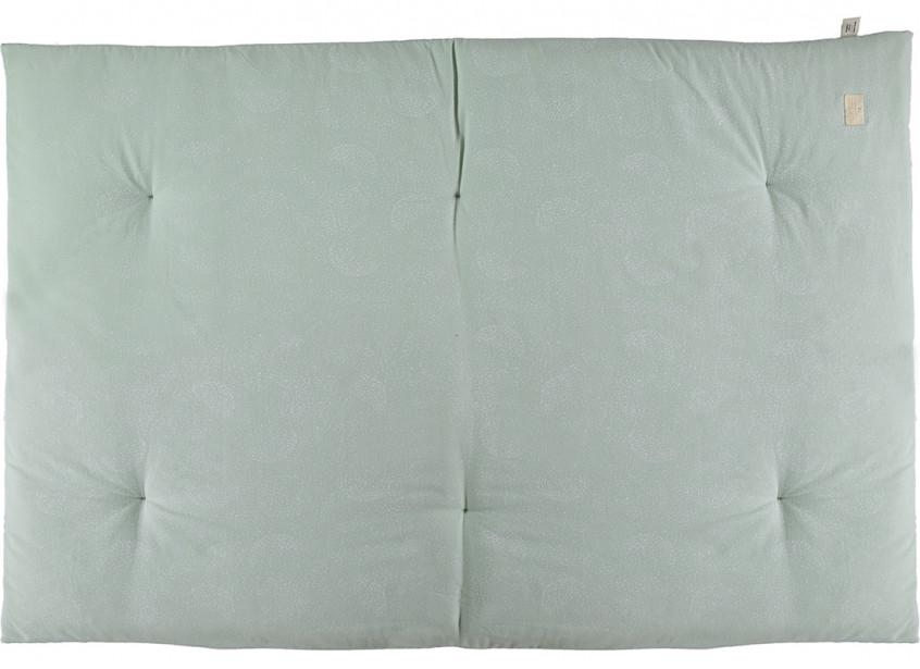 Eden futon 148x100x6 white bubble/ aqua