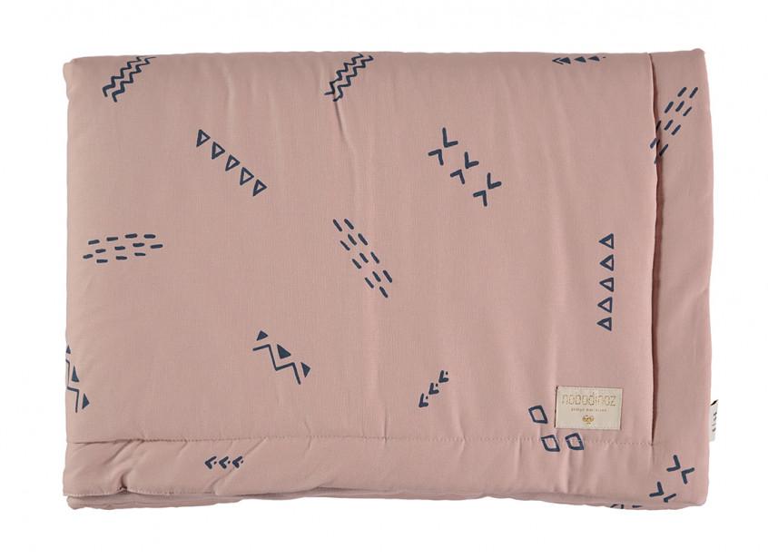 Laponia blanket blue secrets/ misty pink - 2 sizes
