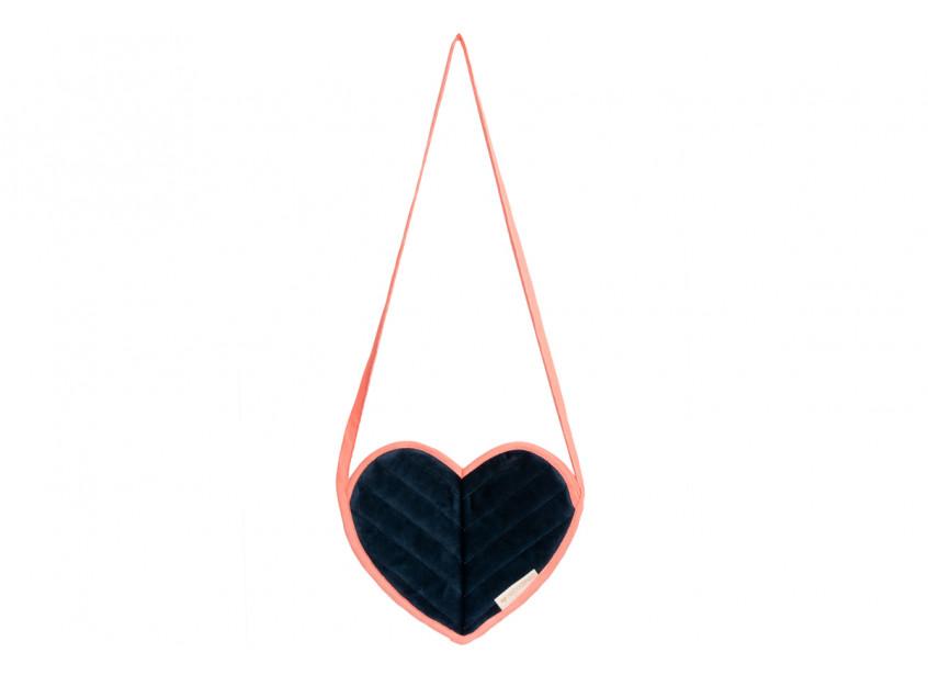 Love mini bag • velvet night blue