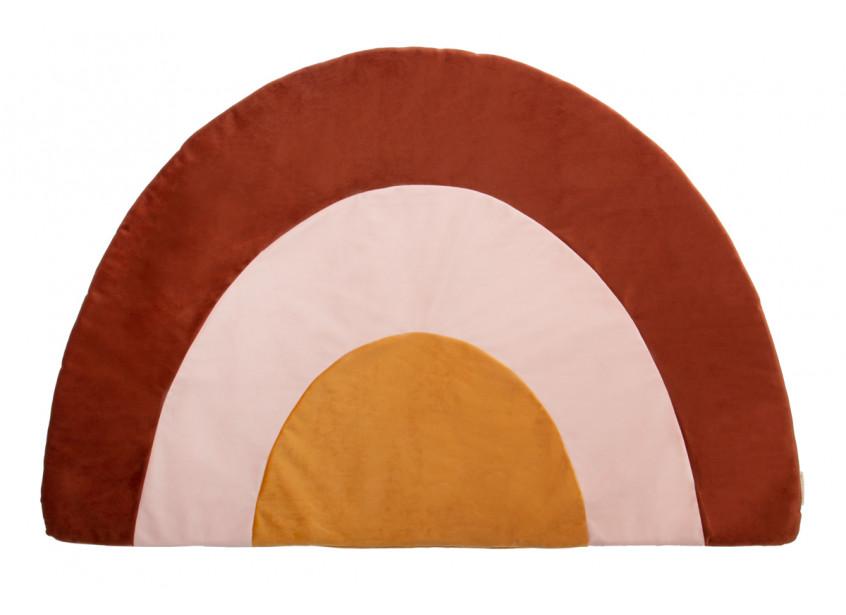 Rainbow carpet • velvet wild brown