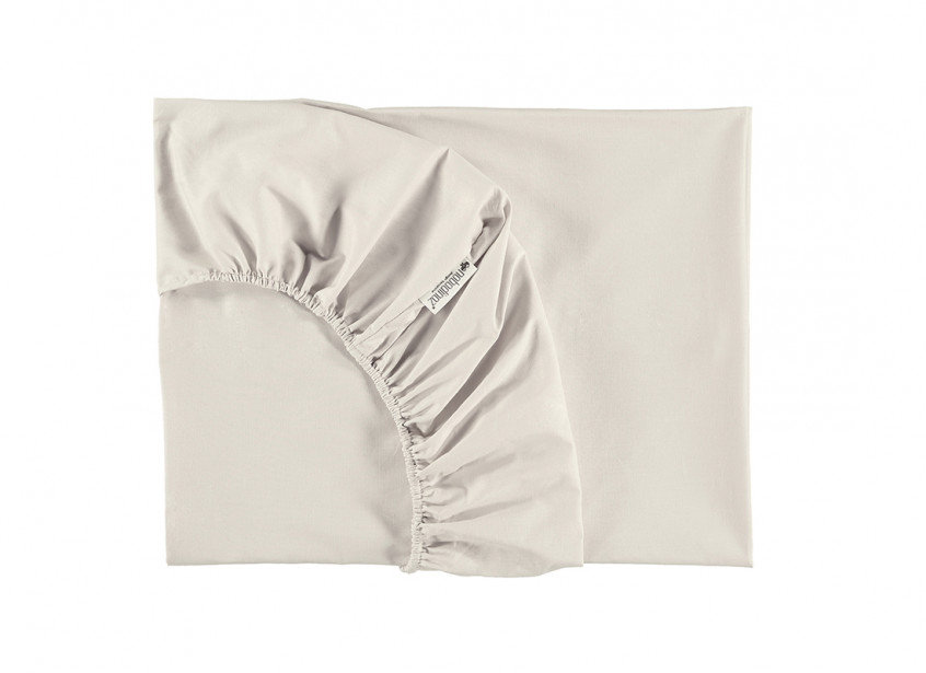Alhambra fitted sheet • natural