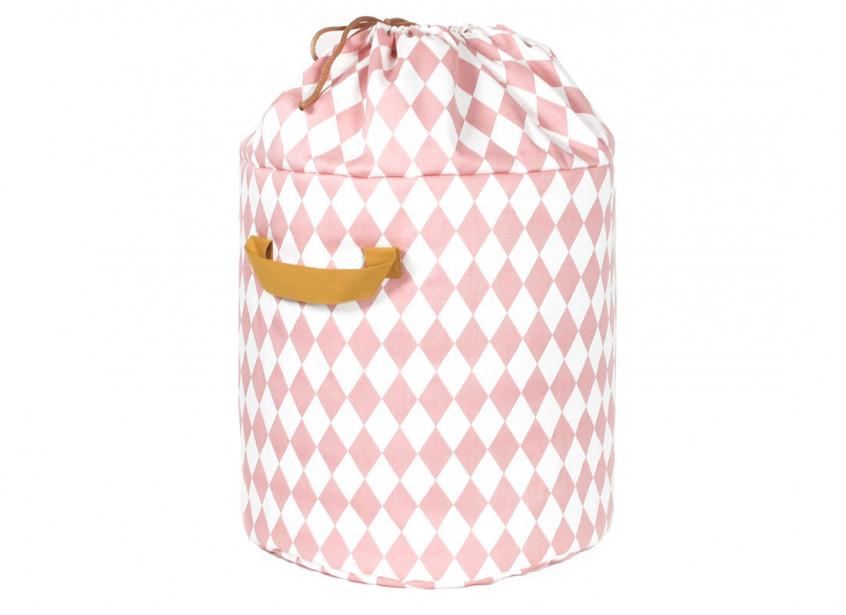 Baobab toy bag pink diamonds - 2 sizes
