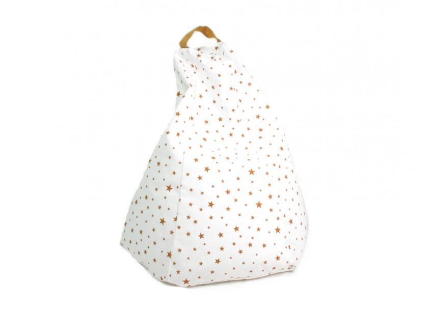 Marrakech kid beanbag • mustard stars