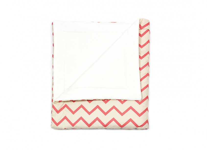 Copenhague blanket • zigzag pink – Medium