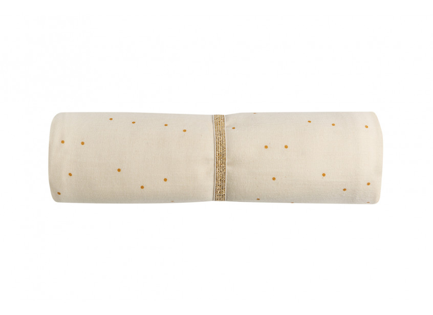 Butterfly swaddle • honey sweet dots natural