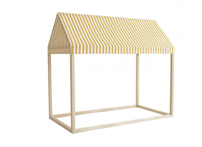Ibiza home - 126x66x113 honey stripes