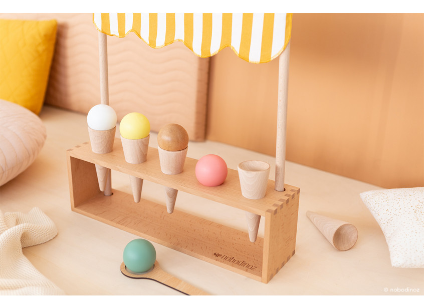 Wooden Ice Cream Corner