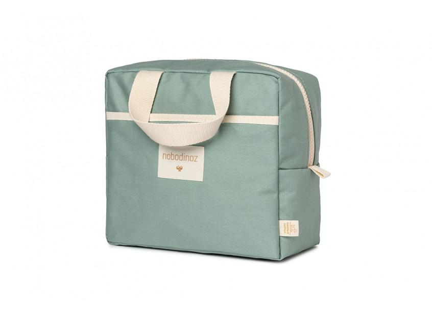 Sunshine insulated lunch bag • eden green