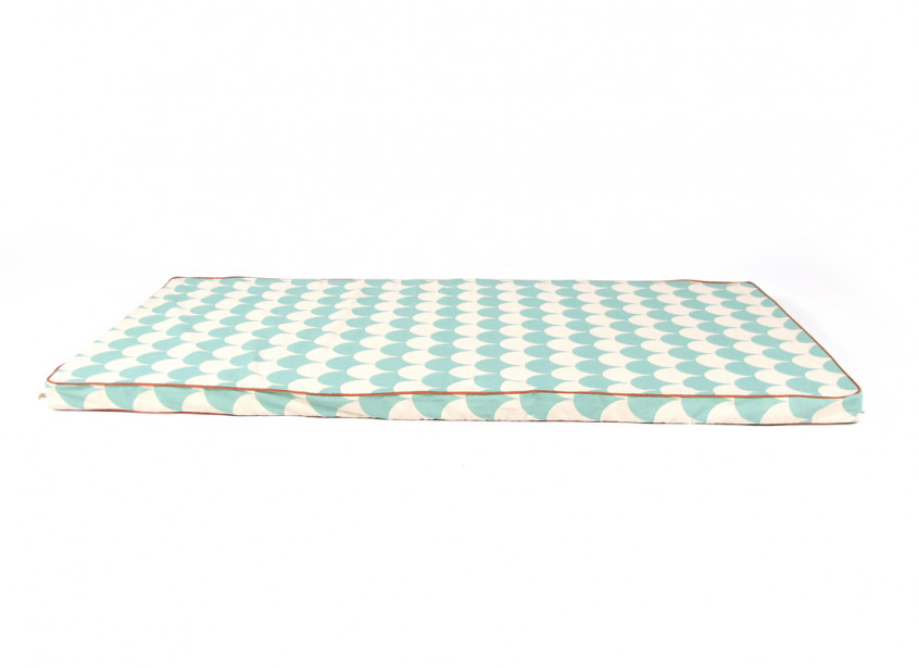 Saint Tropez play mattress • green scales