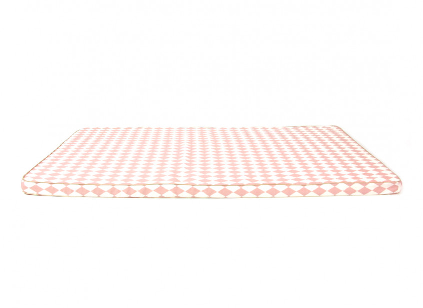 Saint Tropez play mattress • pink diamonds