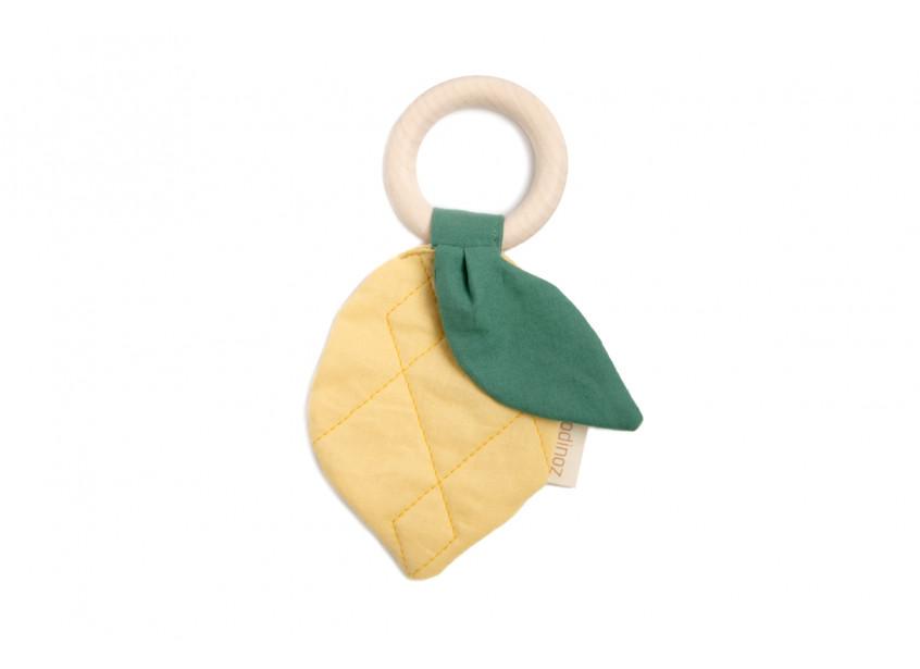 Lemon teether ring