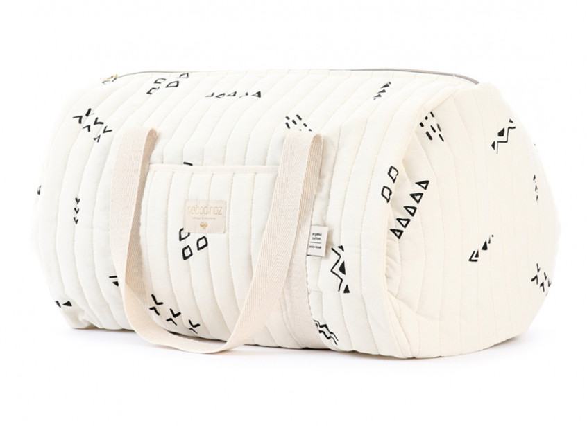 New York weekend bag 30x45x30 black secrets/ natural