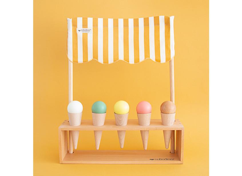 Ice cream corner 40x46x10cm