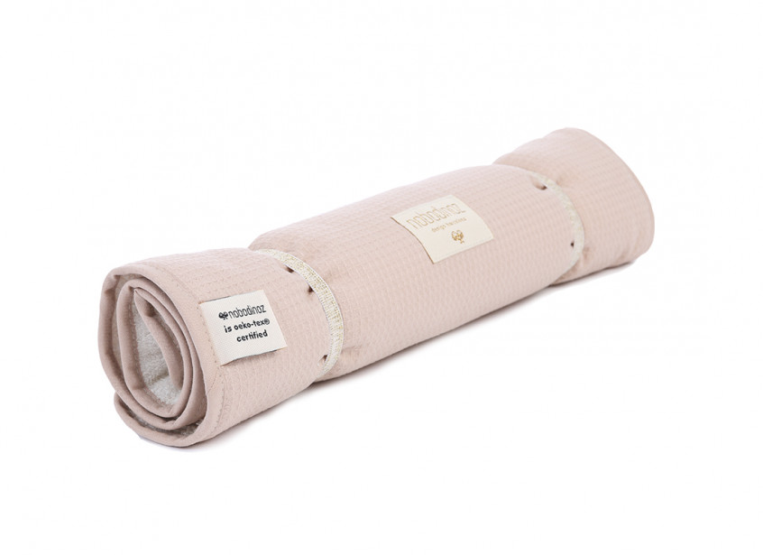 Nomad changing pad honeycomb 60x35 misty pink