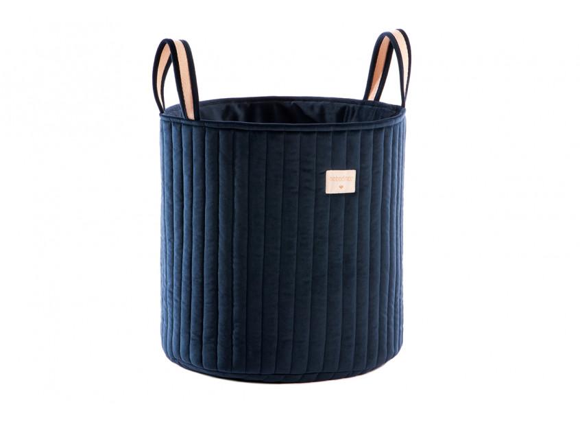Savanna velvet toy bag night blue