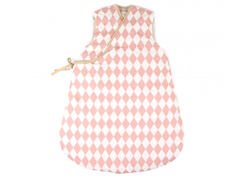Montreal sleeping bag pink diamonds - 2 sizes