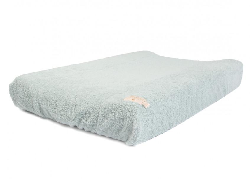 Waterproof changing mat & cover So Cute 70x50 green
