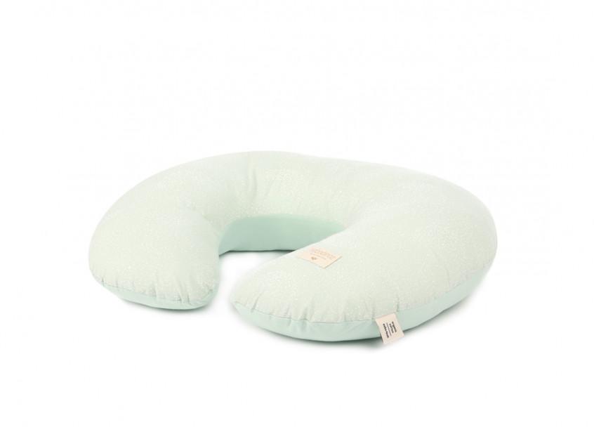 Sunrise nursing pillow 50x60x15 white bubble/ aqua