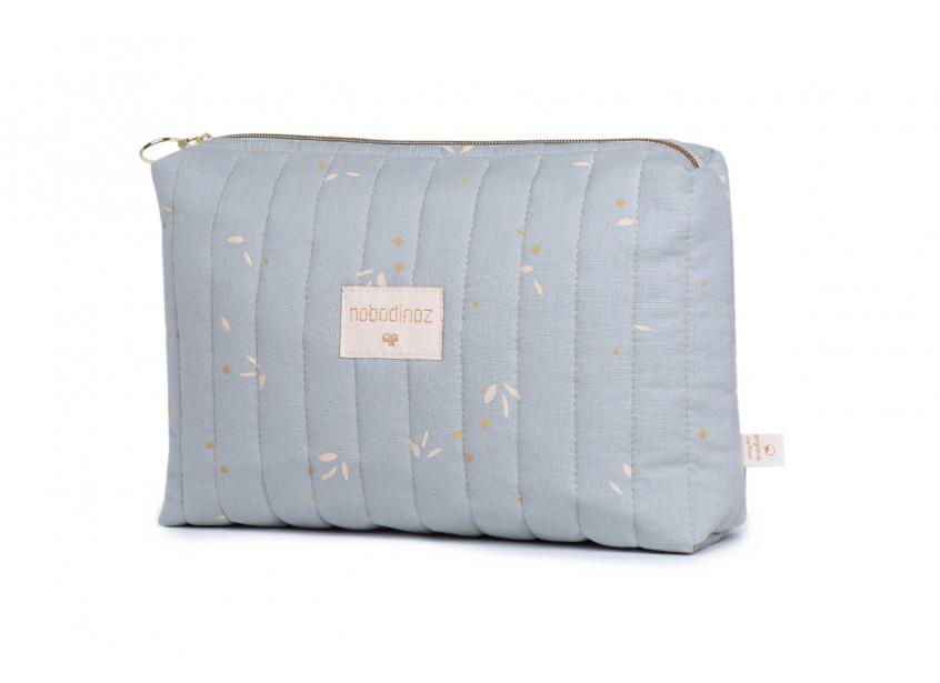 Travel vanity case • willow soft blue