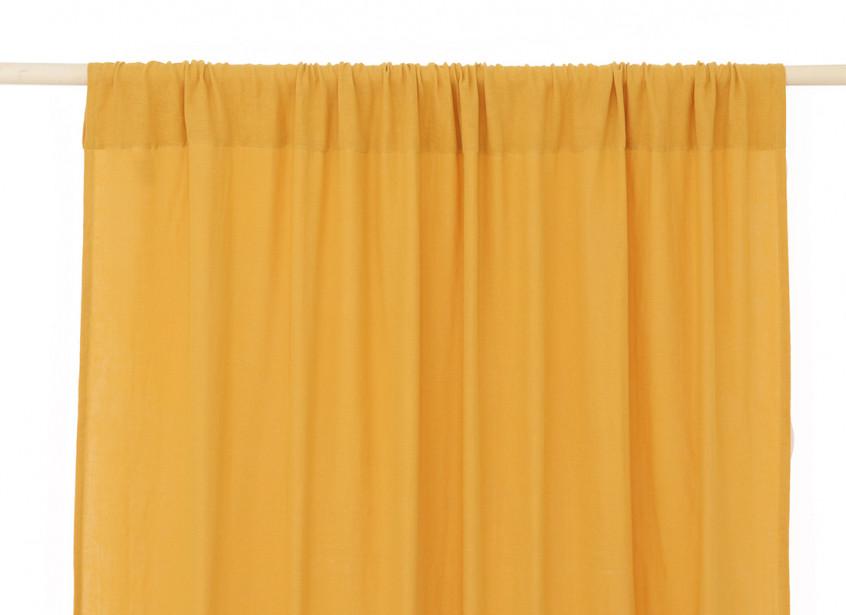 Utopia curtain 146x280 farniente yellow